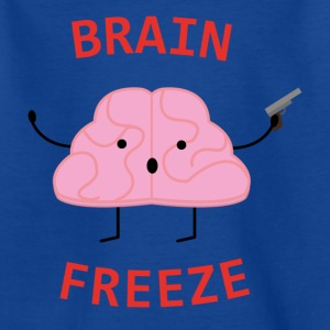 Brain Freeze - Børne-T-shirt