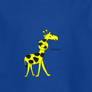 giraff - T-skjorte for barn