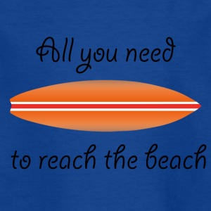 REACH THE BEACH - T-skjorte for barn