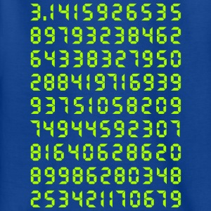 Pi mathematics Kreiszahl Symbol Genie Big Bang Geek - Kids' T-Shirt