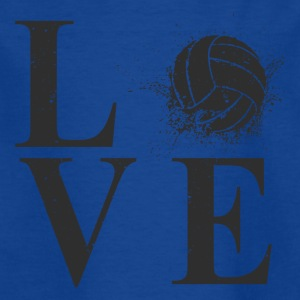 I love Volleyball! - T-skjorte for barn
