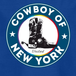bottes de cowboy de New York Symbole Gay Pride Humour lol - T-shirt Enfant