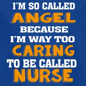 Angel Caring Nurse - T-shirt barn