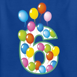Sixth Birthday 6 - Kids' T-Shirt