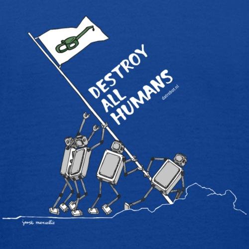 Dat Robot: Destroy War Dark - Kinderen T-shirt