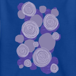 abstrakte Blumen 004 - Kinder T-Shirt