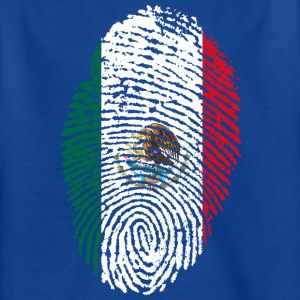 Fingerprint - Mexico - Kinderen T-shirt