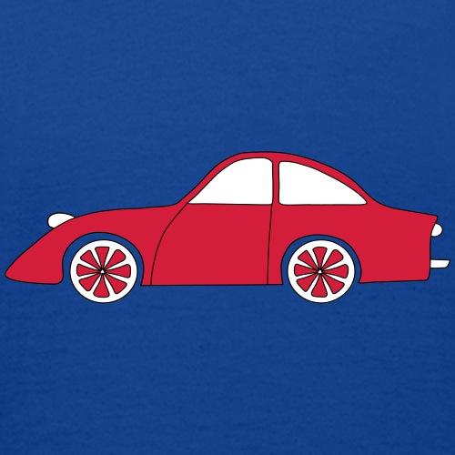 T-shirt Auto Rood - Kinderen T-shirt