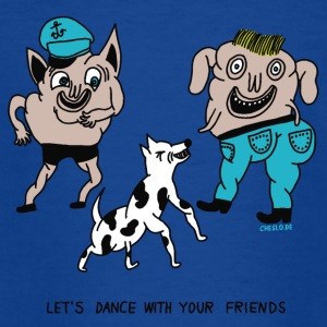 Let's Dance with your Friends - Kinder T-Shirt