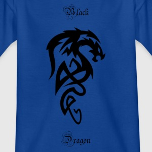 Tribal dragon - Kids' T-Shirt