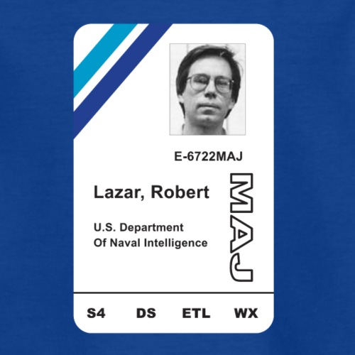 Bob Lazar AREA 51 I.D Card - Kids' T-Shirt