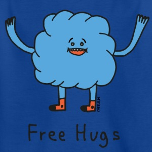 Free Hugs by Cheslo - Kinder T-Shirt