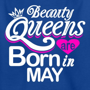 Queens Birthday May - Kids' T-Shirt