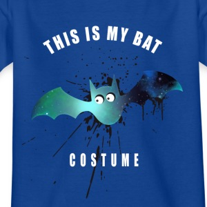 costume bat Fledermaus Comic Spritzer niedlich lol - Kinder T-Shirt
