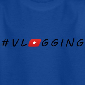 YouTube #Vlogging - Kids' T-Shirt
