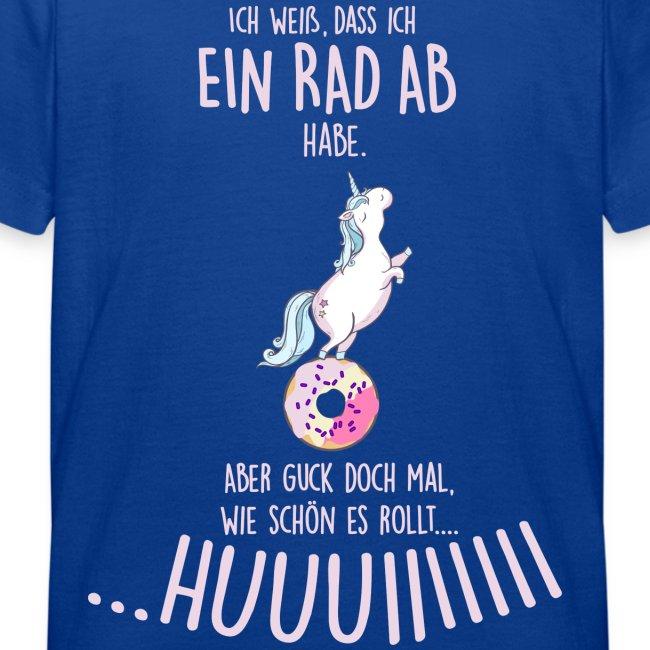 Vorschau: rad ab_einhorn - Kinder T-Shirt