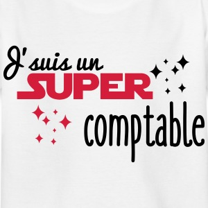 I'm a super accountant - Kids' T-Shirt
