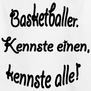 basketballer_einen_alle - Kinder T-Shirt