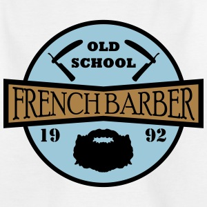 FRENCH BARBER - T-skjorte for barn