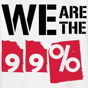 We are the 99 percent - Kids' T-Shirt