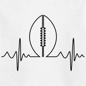 Football américain Heartbeat - T-shirt Enfant