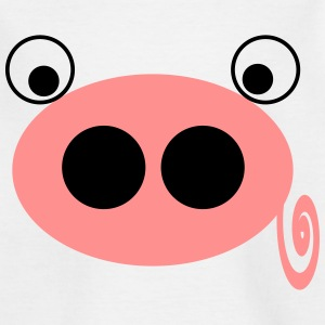 piggy pink - Kids' T-Shirt