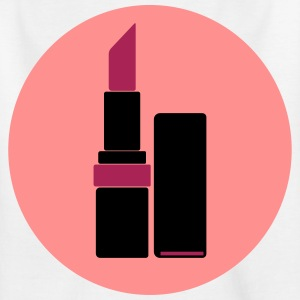 logotipo del lápiz labial del vector (su color) - Camiseta niño