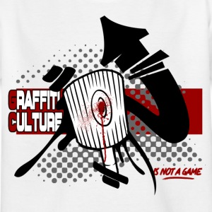 Graffiti Culture (is not a game) - T-shirt Enfant