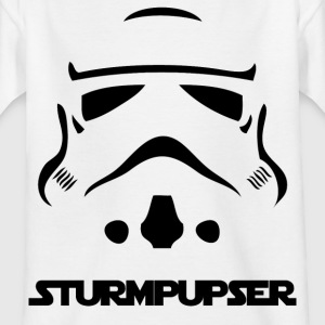 Sturpupser - The shirt - Kids' T-Shirt