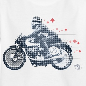 Moto Morini Rebello diamanter - T-skjorte for barn