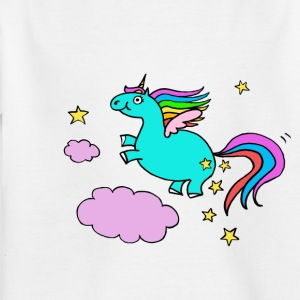 Pegasus Unicorn - T-skjorte for barn