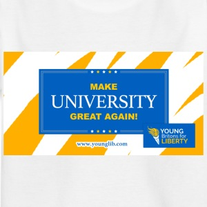MUGA: Gör University Great Again - T-shirt barn