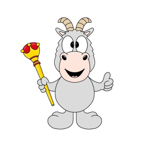 Ziege - Goat - König - Königin - Tier - Kinder - Kinder T-Shirt
