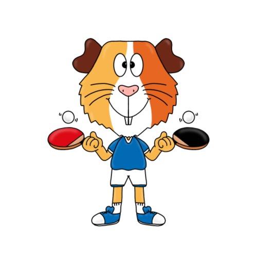 Meerschweinchen - Tischtennis - Sport - Tier - Fun - Kinder T-Shirt