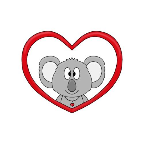 Koala - Herz - Liebe - Love - Tier - Geschenk - Kinder T-Shirt