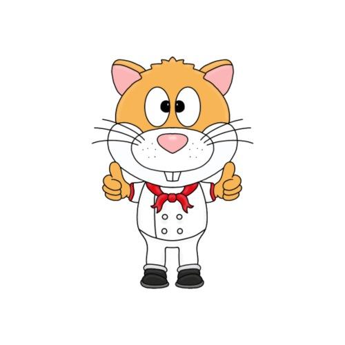 Hamster - Koch - Bäcker - Beruf - Tier - Fun - Kinder T-Shirt