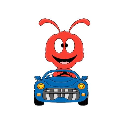 Ameise - Ant - Auto - Fahrschule - Tier - Fun - Kinder T-Shirt