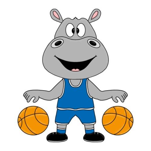 NILPFERD - BASKETBALL - TIER - KINDER - BABY - Kinder T-Shirt