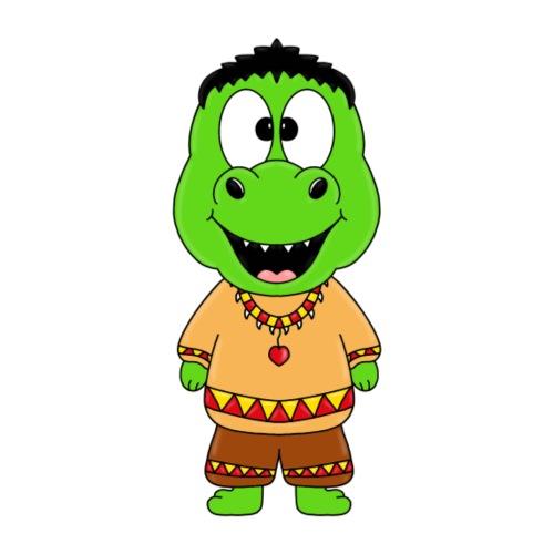 DINOSAURIER - DINO - INDIANER - WESTERN - KINDER - Kinder T-Shirt