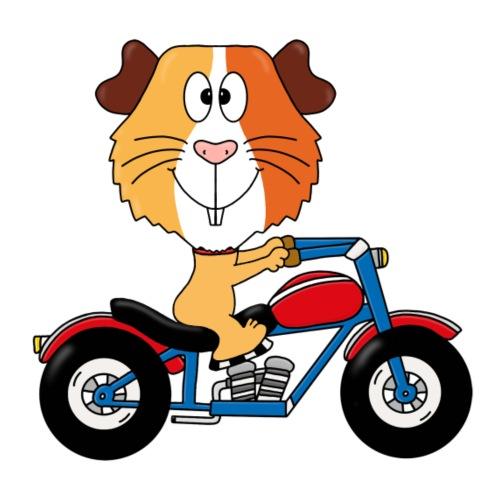 MEERSCHWEINCHEN - MOTORRAD - BIKER - MOTORSPORT - Kinder T-Shirt