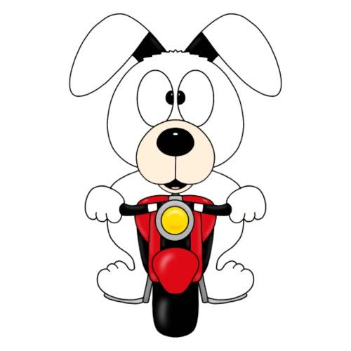 BIKER - MOTORRAD - HUND - DOG - MOTORSPORT - TIER - Kinder T-Shirt