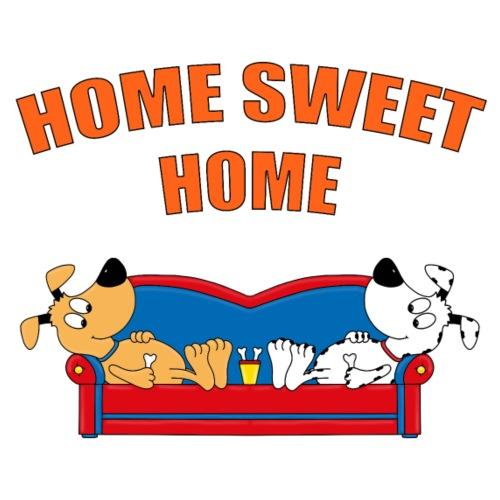 HUND - HUNDE - HOME SWEET HOME - LIEBE - FUN - Kinder T-Shirt