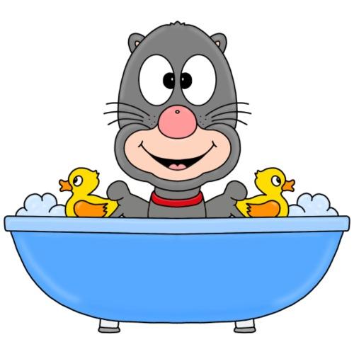 Maulwurf - Badewanne - Kinder - Tier - Comic - Kinder T-Shirt