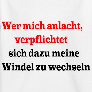 Volle Windel - Kinder T-Shirt