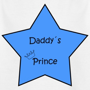 Daddy's Prince Star - Kinderen T-shirt