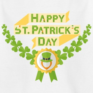 Glad St Patricks dag - T-skjorte for barn