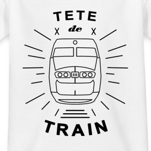 Tete_De_Train_Black_Aubstd - T-shirt barn