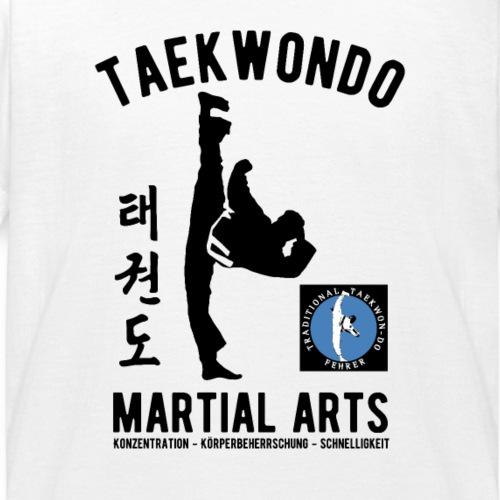 Michael Silhouette Taekwon-Do Martial Arts - Kinder T-Shirt