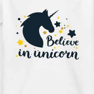 BELIEVE IN UNICORN - Kids' T-Shirt