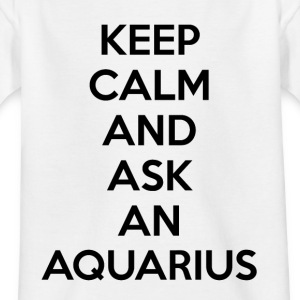 Aquarius Keep Calm - Kinder T-Shirt